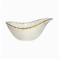 Соусник фарфоровый маленький Kutahya Porselen Corendon 111х82 мм (CR3111)