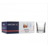 "Набор прозрачных стаканов низких Arcoroc ""Брикстон"" 300 мл 6 шт (P4188)"