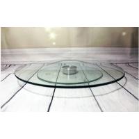 Тортовница стеклянная вращающаяся на ножке Helios 300 мм 1 шт (6841)