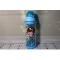Детская большая бутылка с соской и ремешком для мальчиков 600 мл Helios 1 шт (6924)