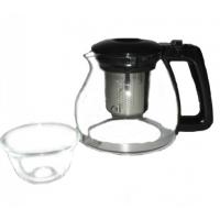 Чайник Helios 950 мл с фильтром и 4 чашки 210 мл (5540)