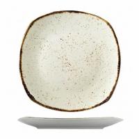 Квадратная тарелка Kutahya Porselen Corendon из фарфора 250 мм (CR3225)