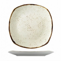 "Квадратная большая тарелка из фарфора Kutahya Porselen ""Corendon"" 300 мм 1 шт (CR3230)"