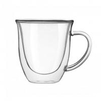 Большая чайная кружка с двойными стенками Helios 350 мл 1 шт (6752)