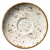 Блюдце Kutahya Porselen Corendon для большой чашки фарфоровое 170 мм 1 шт (CR3717)