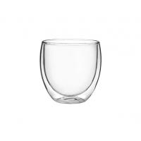 Набор маленьких стаканов с двойными стенками Helios 80 мл 2 шт (6740)