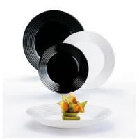 Сервиз столовый Luminarc  Harena Black&White18 пр (N1518)