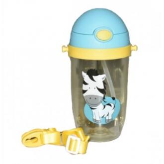 Детская бутылка Helios с соской и ремешком 480 мл 1 шт (6920)