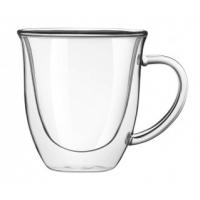 Набор кофейных чашек с двойными стенками Helios 80 мл 2 шт (6750)