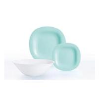 "Сервиз столовый Luminarc ""Carine Light Turquoise & White"" из 19 предметов (P7627)"