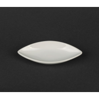 Соусница-лист фарфоровая 40 мл 1 шт  (HR1567)