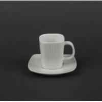 Набор кофейный Helios Чашка 100 мл и блюдце (HR1315)