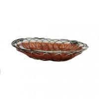 Плетённая корзинка для фруктов HLS 25*19*5 см (7342)