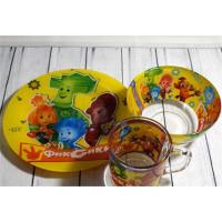 Набор детский Isfahan Фиксики для обеда 3 предмета (A9551/8)