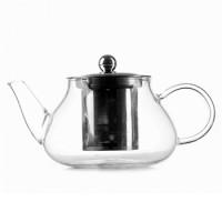 Заварочный чайник Helios 0.6 л с нержавеющим ситечком (6812)