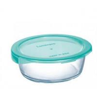 Пищевой контейнер Luminarc Keep`N круглый бирюзовой с крышкой 420 мл (P5525)