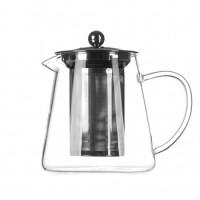 Заварочный чайник Helios 0.75 л с нержавеющим ситечком  (6816)