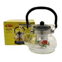 Заварочный чайник Helios с фильтром 0.6 л (6006)