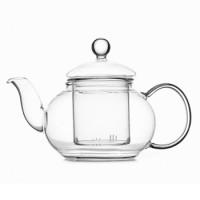 Заварочный чайник Helios 0.6 л со стеклянным ситечком (6806)