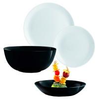 Столовый сервиз LUMINARC Diwali Black&Granit 19 предметов (P4358)