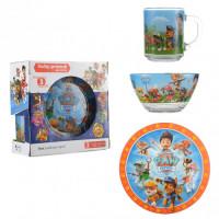 Набор детской посуды Isfahan Щенячий патруль 3 предмета (A9551/17)