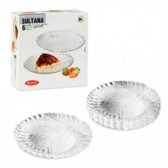 Набор тарелок Pasabahce Султана десертных 195 мм 6 шт (10289)