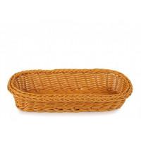 Плетённая корзинка Helios для столовых приборов светло-коричневая (7300)