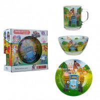 Набор детской посуды Isfahan Тракторы 3 предмета (A9551/9)