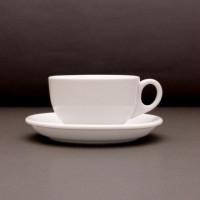 Чашка Lubiana Ameryka 200 мл с блюдцем 145 мм (101,112)