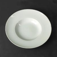 Тарелка Helios Extra White глубокая фарфоровая 400 мл (A7009)