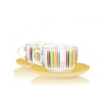 Сервиз чайный Luminarc Evolution Fizz 12 предметов 220мл (P6880)