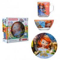 Набор детской посуды Isfahan Принцесса София 3 предмета (A9551/10)
