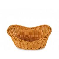 Плетённая корзинка Helios для хлеба коричневая (7306)