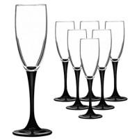Набор бокалов для шампанского Luminarc Domino 170 мл 6 шт (H8167)