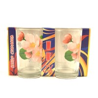 Набор стаканов ОСЗ Цветы 250 мл 2 шт (8222)