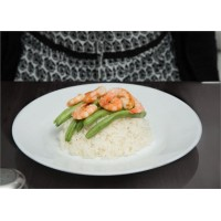 Тарелка Arcoroc Restaurant обеденная белая 225 мм (29337)