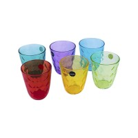 Набор стаканов Luminarc Diamond Colorlicius высокие 320 мл 6 шт  (P7131)