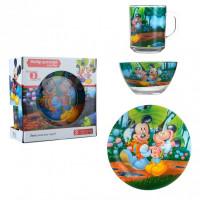 Набор детской посуды Isfahan Микки 3 предмета (A9551/13)