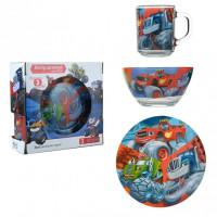 Набор детской посуды Isfahan Джипы 3 предмета (A9551/14)