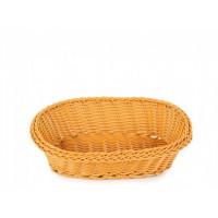Плетённая корзинка Helios для хлеба овальная коричневая (7307)