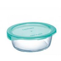 Пищевой контейнер Luminarc Keep`N круглый бирюзовой с крышкой 670 мл (P5524)