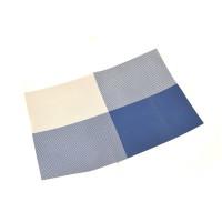 Салфетка-сет Helios под горячее синяя 4 цвета 30х45 см (6910)