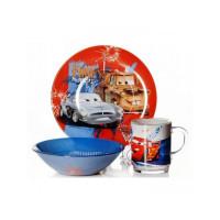 Набор детской посуды Isfahan Тачки 3 предмета (A9551/19)