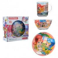Набор детской посуды Isfahan Алладин 3 предмета (A9551/15)