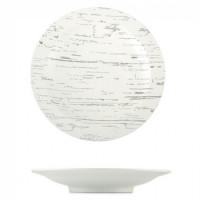 Тарелка Helios Светлый камень круглая глубокая  300 мм (G1606)