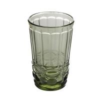 Набор зелёных высоких стаканов Helios Изумруд для напитков   350 мл 6 шт (6441)