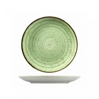 ATLANTIS Тарелка мелкая 21 см зеленая (GR3021)
