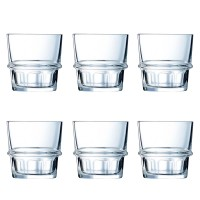 Набор низких стаканов Arcoroc New York  250 мл 6 шт (L7339)