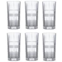 Набор прозрачных стаканов высоких Luminarc Dallas 380 мл 6 шт (P6611)