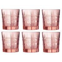 Набор розовых стаканов низких Luminarc Dallas 300 мл (P9165)